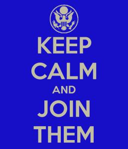 Keep Calm and Join Them - Google