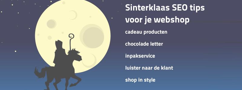 SEO tips voor je Sinterklaas webwinkel